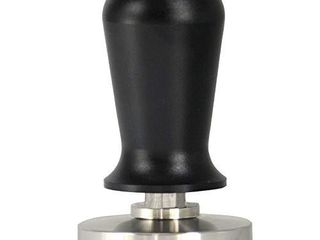 Yolococa 30lbs Stainless Steel Calibrated Pressure Tamper For Coffee And Espresso Black  56mm
