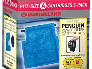 Marineland Penguin Rite Size Cartridge power filter cartridge  fit penguin 75   100 6 count