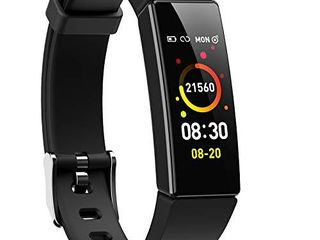 ZURURU Fitness Watch with Blood Pressure Heart Rate Monitor for Women and Men Compatible with Android Phones and iPhone
