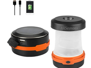 RECHARGEABlE POP UP lED CAMPING lIGHT