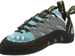 la Sportiva Women s Tarantulace Rock Climbing Shoe  Turquoise  38 5