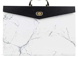 U Brands Fashion Expandable File Folder  letter Size  19 Pockets  Marble Print