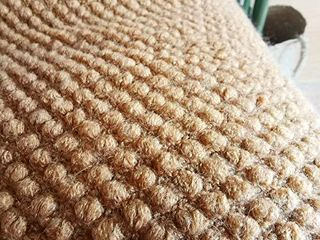 lOMAO Knitted Throw Blanket with Tassels Bubble Textured Soft Blanket lightweight Throws for Couch Cover Home Decor  Khaki  50x60