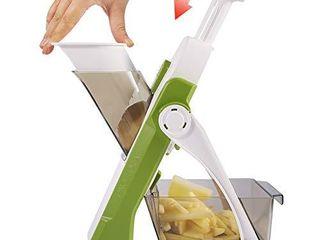 Vegetable Cutter Mandoline Slicer ONCE FOR All Food Chopper Dicer Fruit French Fry Julinner