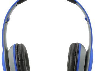 ilive Audio Wireless Headphones   Blue  IAHB38BU