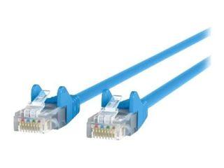 Belkin CAT5e Ethernet Patch 14  Cable Snagless  RJ45  M M