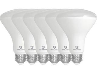 Great Eagle R30 or BR30 lED Bulb  11W  75W Equivalent  850 lumens  Upgrade for 65W Bulb  4000K Cool White Color  for Recessed Can Use  Wide Flood light  Dimmable  and Ul listed  Pack of 6
