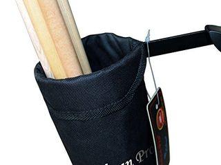 Vizcaya Drum Stick Holder Drum Stick Bag with Drum Key Black