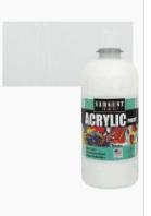 Sargent Art 24 2496 16 Ounce Acrylic Paint  White