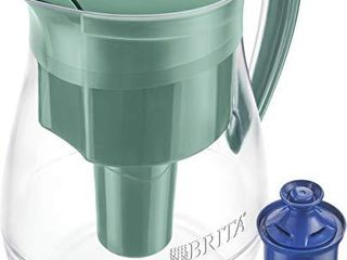 Brita longlast Monterey Water Filter Pitcher  Green  large 10 Cup  1 Count
