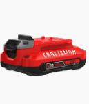 CRAFTSMAN BATTERY PACK  20V  TYPE 1 80WH