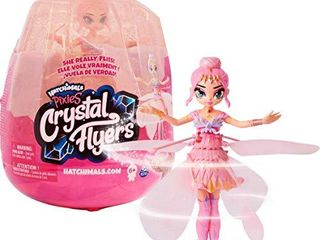 Hatchimals Pixies  Crystal Flyers Pink Magical Flying Pixie Toy  for Kids Aged 6 and up
