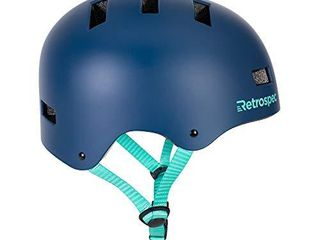 Retrospec CM 1 Bicycle   Skateboard Helmet for Adult CPSC Certified Commuter  Bike  Skate  Matte Midnight Blue  Small  51 55 cm   20 21 75