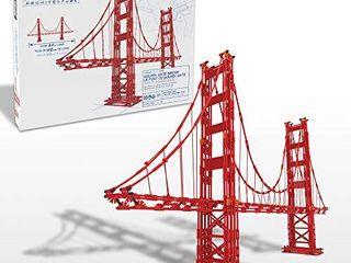 K NEX Architecture  Golden Gate Bridge   Build IT Big   Collectible Building Set for Adults   Kids 9    New   1 536 Pieces   Over 3 Feet long