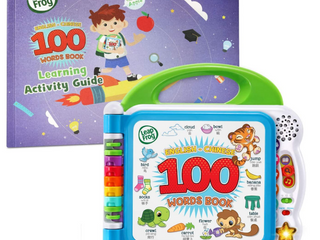 leapfrog learning Friends English chinese 100 Words Book With learning Activi