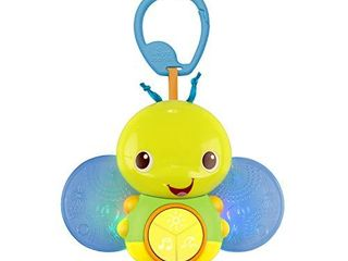 Bright Starts Beaming Buggie Take Along Toy Multi color  4 5  x 1 0  x 3 75