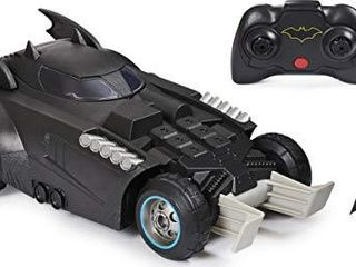 BATMAN launch and Defend Batmobile Remote Control Vehicle with Exclusive 4  Action Figure