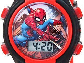Marvel Boys  Quartz Watch with Plastic Strap  red  16  Model  SPD3515A