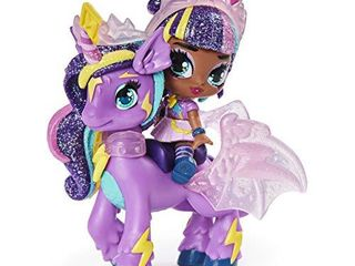 Hatchimals Pixies Riders  Moonlight Mia Pixie and Unicornix Glider Set with Mystery Feature