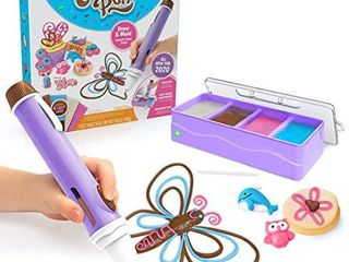 Real Cooking Chocolate Pen Draw in Chocolate and DIY Your Own Baking Creations
