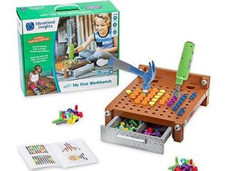 Educational Insights Design   Drill My First Workbench  Supports STEM learning  Ages 3 and Up   125  Pieces