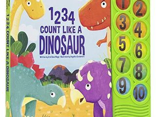 1234 Count like a Dinosaur   Counting Sound Book   PI Kids  Play A Sound