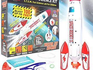 BlOONSY Water Rocket Kit   Water Rockets for Kids   Toy Rocket launcher for Kids  INT