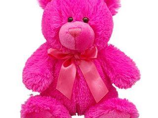 Anico Colorful Cuties 8  Teddy Bear  Hot Pink
