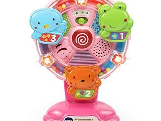 VTech lil  Critters Spin and Discover Ferris Wheels  Pink  Amazon Exclusive