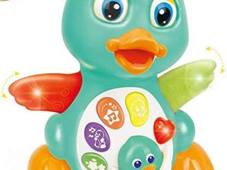 Huile Musical light Up Dancing Duck 808D  Infant  Baby and Toddler Musical and Educational Toy for Boys and Girls  Amazon Exclusive