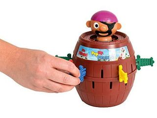 TOMY Pirates Pile Up Interactive Multi Player Balancing Game