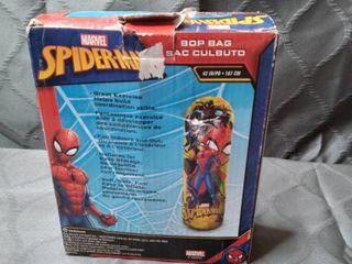 Hedstrom Spider Man Bop Inflatable Punching Bag  42  Red