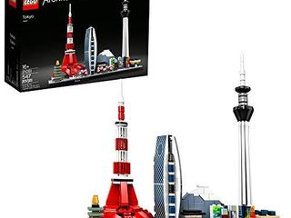lEGO Architecture Skylines  Tokyo 21051 Building Kit  Collectible Architecture Building Set for Adults  New 2020  547 Pieces