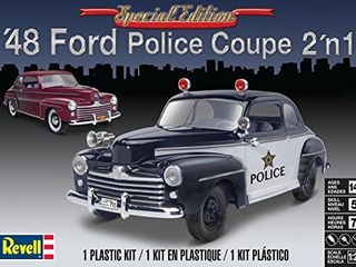 Revell Monogram 1 25    48 Ford Police Coupe 2n1