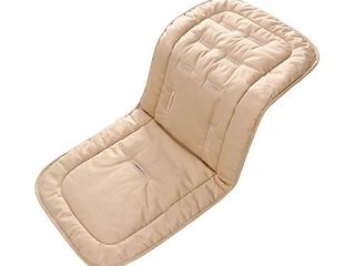 Baby Seat liner for Stroller Super light Baby Seat Pad Breathable Soft Cushion Double Sides Use 31 x 13 Apricot