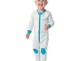 baby deedee Sleepsie Cotton Quilted Footie Pajama