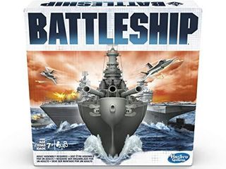 Battleship Classic Board Game Strategy Game Ages 7 and Up For 2 Players