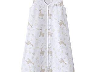 HAlO Sleepsack Wearable Blanket Cotton llama Sand  Size X large