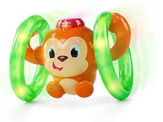 Roll   Glow Monkey Toy with lights and Melodies