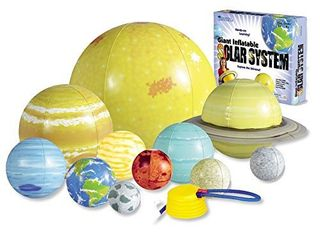learning Resources Giant Inflatable Solar System  13 Pieces  8 Planets  Grades K Ages 5