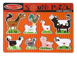 Melissa   Doug Farm Animals Sound Puzzle