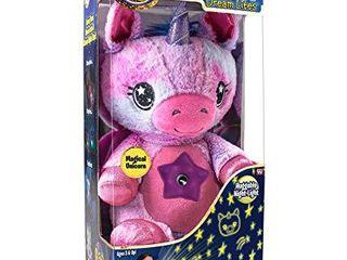 Ontel Star Belly Dream lites  Stuffed Animal Night light  Pink and Purple Unicorn
