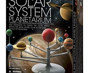 4M 3427 Solar System Planetarium   DIY Glow In The Dark Astronomy Planet Model Stem Toys Gift for Kids   Teens  Girls   Boys