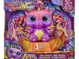 furReal Moodwings Baby Dragon Interactive Pet Toy  50  Sounds   Reactions  Ages 4 and Up