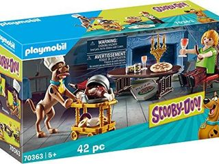 Playmobil Scooby DOO  Dinner with Shaggy Playset