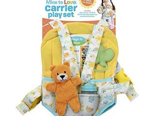 Melissa   Doug Carrier Play Set for Baby Dolls