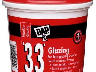 Dap 12122 33 Glazing Compound  1 Quart  White