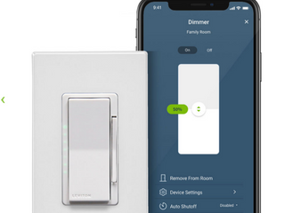 lEVITON DIMMER With WIFI Technology