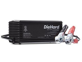 DieHard 71219 6 12V Shelf Smart Battery Charger and 2A Maintainer