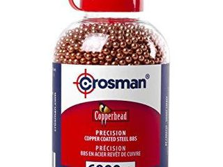 Crosman Copperhead 4 5mm Copper Coated BBs in EZ Pour Bottle for BB Air Pistols and BB Air Rifles  6000 Count